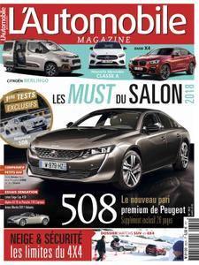 L'Automobile Magazine - mars 2018