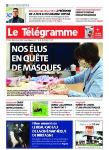 Le Télégramme Quimper – 21 avril 2020