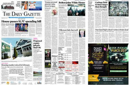 The Daily Gazette – March 23, 2018