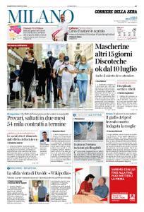 Corriere della Sera Milano – 30 giugno 2020