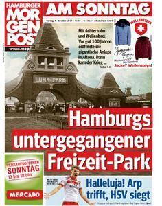 Hamburger Morgenpost - 05. November 2017