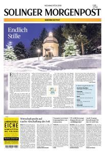 Solinger Morgenpost – 24. Dezember 2018