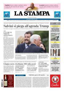 La Stampa Torino Provincia e Canavese - 18 Giugno 2019
