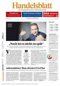 Handelsblatt - 22. August 2018