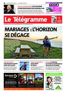 Le Télégramme Landerneau - Lesneven – 05 mai 2021