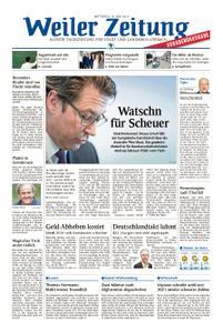 Weiler Zeitung - 19. Juni 2019
