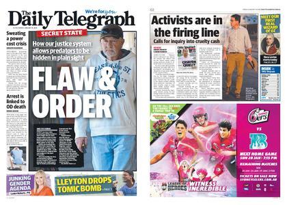 The Daily Telegraph (Sydney) – January 18, 2019