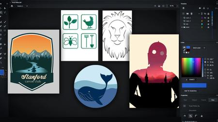 Graphic  Design in Adobe Animate