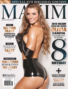 Maxim Australia - August 2019