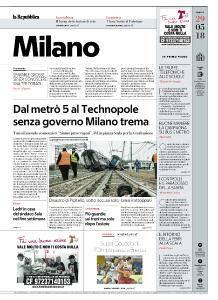 la Repubblica Milano - 29 Maggio 2018
