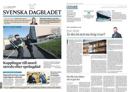 Svenska Dagbladet – 23 januari 2020