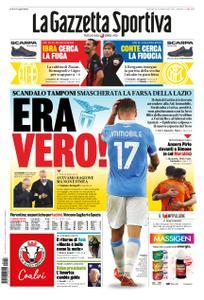 La Gazzetta dello Sport Roma – 08 novembre 2020