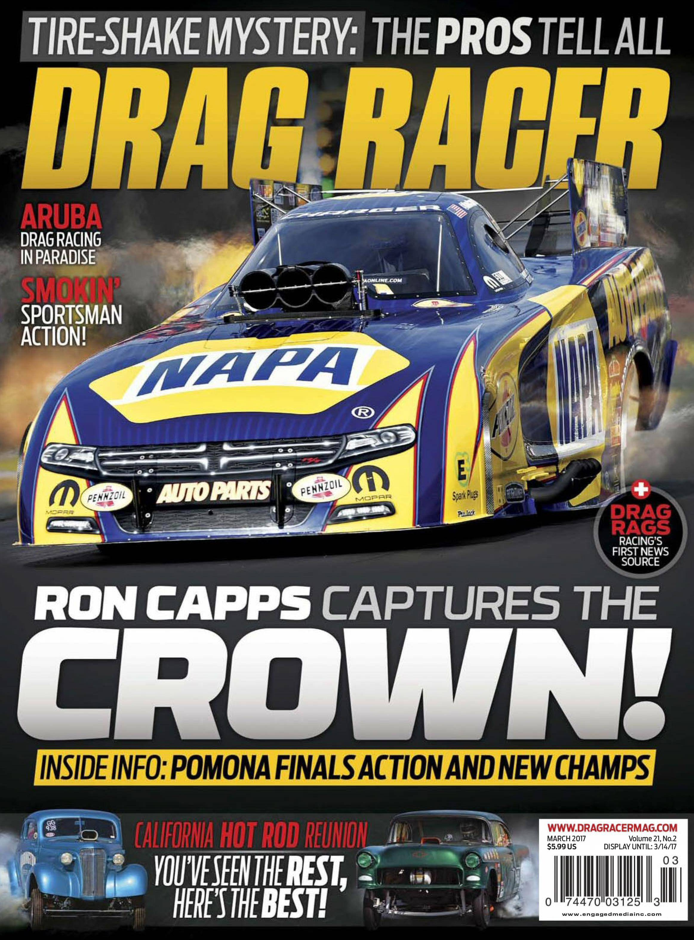 Drag Racer - March 01, 2017 / AvaxHome