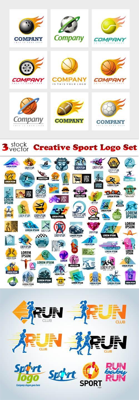 Vectors - Creative Sport Logo Set