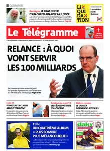 Le Télégramme Quimper – 04 septembre 2020