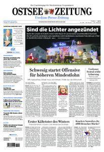 Ostsee Zeitung Wolgast - 15. Dezember 2017