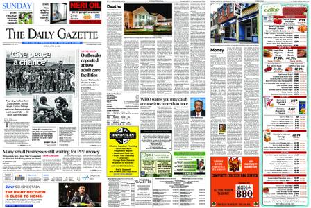 The Daily Gazette – April 26, 2020