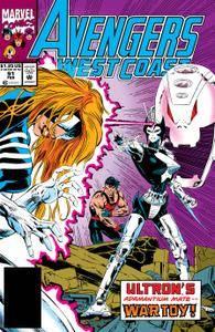 Avengers West Coast 091 1993 Digital Zone-Empire