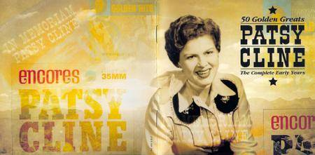 Patsy Cline - 50 Golden Greats: The Complete Early Years (2006) 2CDs