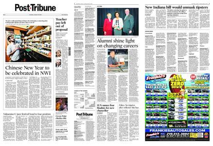 Post-Tribune – January 25, 2020