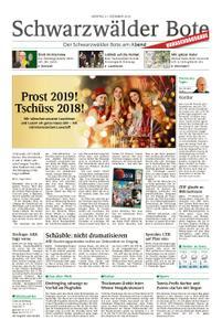 Schwarzwälder Bote Sulz - 31. Dezember 2018