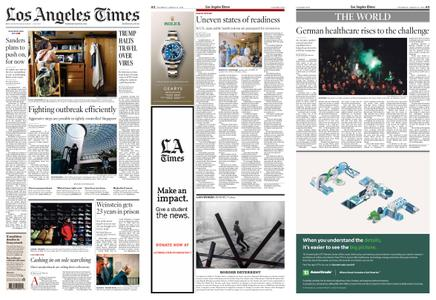 Los Angeles Times – March 12, 2020