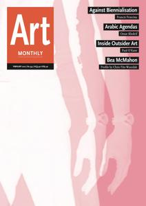 Art Monthly - February 2012   No 353