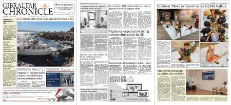 Gibraltar Chronicle – 15 July 2021