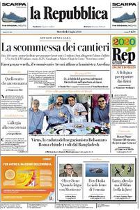 la Repubblica - 8 Luglio 2020