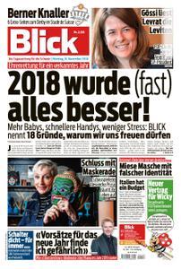 Blick – 31. Dezember 2018
