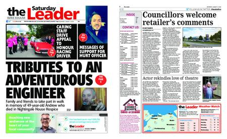 The Leader Wrexham – August 17, 2019
