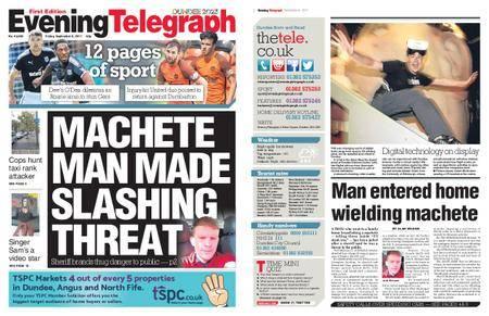 Evening Telegraph First Edition – September 08, 2017