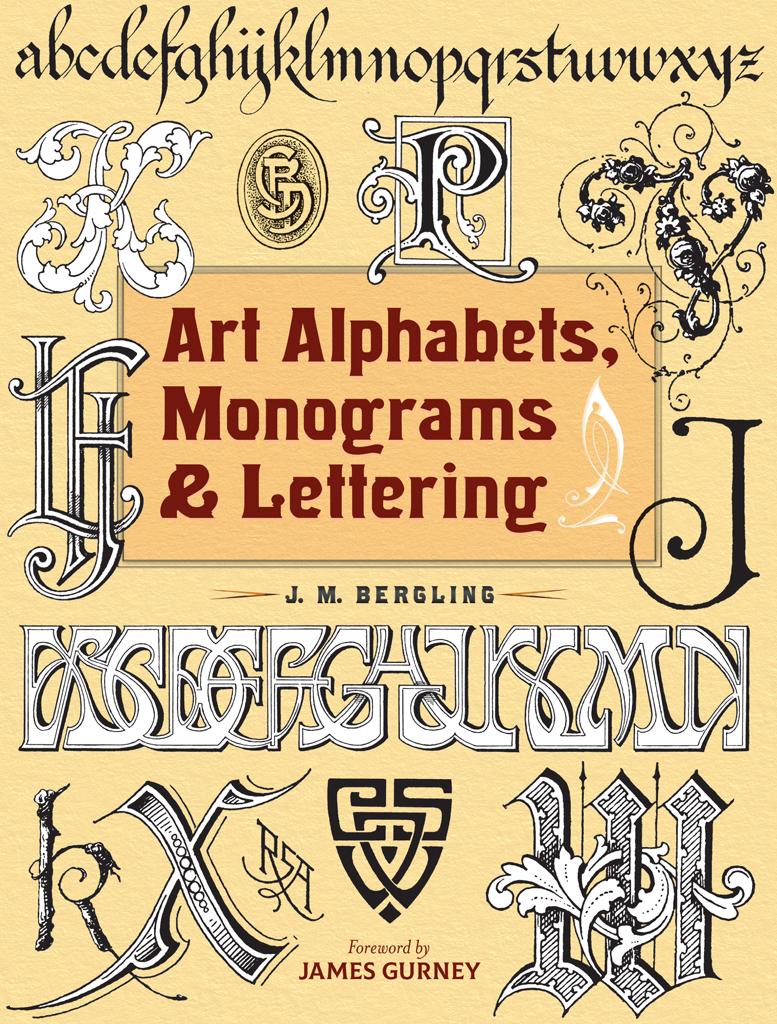 Art Alphabets, Monograms, and Lettering (Dover Art Instruction)