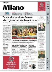 la Repubblica Milano - 8 Marzo 2019