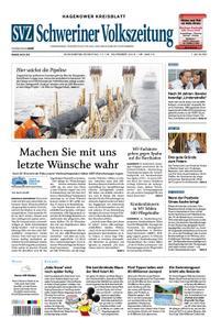 Schweriner Volkszeitung Hagenower Kreisblatt - 17. November 2018