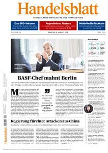 Handelsblatt - 19. August 2019