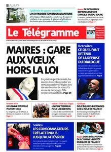 Le Télégramme Auray – 08 janvier 2020