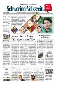Schweriner Volkszeitung Hagenower Kreisblatt - 30. November 2017