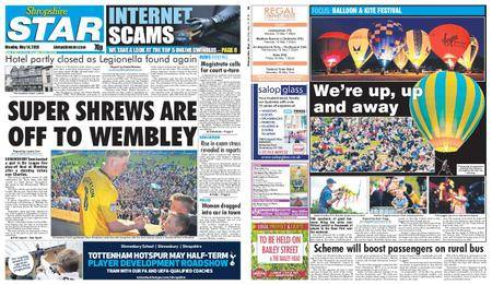 Shropshire Star Shrewsbury Edition – May 14, 2018