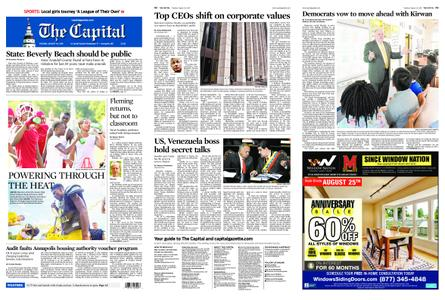 The Capital – August 20, 2019