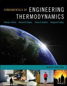 Fundamentals of Engineering Thermodynamics, 9 edition