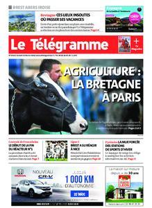 Le Télégramme Brest Abers Iroise – 22 février 2020