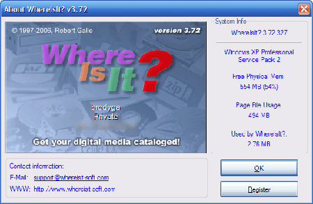 WhereIsIt v3.72 Build 327