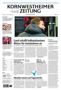 Kornwestheimer Zeitung - 29. Januar 2018