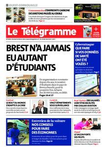 Le Télégramme Ouest Cornouaille – 26 février 2021