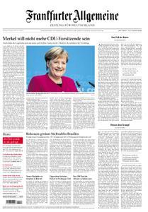Frankfurter Allgemeine Zeitung F.A.Z. - 30. Oktober 2018