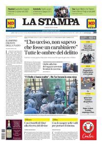 La Stampa Torino Provincia e Canavese - 28 Luglio 2019