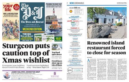 The Press and Journal Moray – November 21, 2020