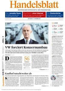 Handelsblatt - 11. Oktober 2017