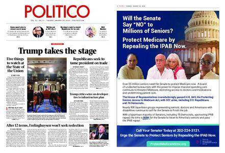 Politico – January 30, 2018